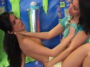 Pale Teen Creampie And Insatiable Girly-girl Dildo Girlfriend