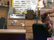 Curvy Harlow Harrison gets her wet pussy slammed hard