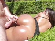 Ava Sanchez massive ass up and down on dick