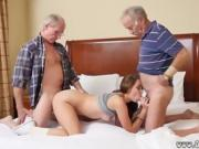 Creampie old fat granny and tricky old Introducing Duke