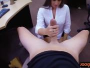 Big ass woman nailed by nasty pawn dude at the pawnshop