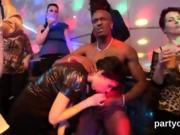 Wicked girls get completely foolish and nude at hardcore part