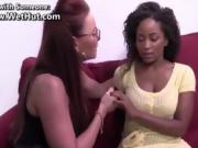 eBony Black & White Lesbian Sex