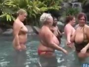 BBW School Suck Party