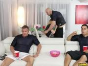 Gigi Flamez gives Jmac a steaming blowjob