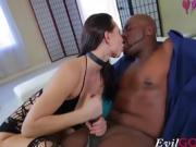 Cute girl Aidra Fox needs some big black dick just for her