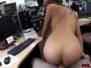 College Student Banged in my pawn shop! xp13702