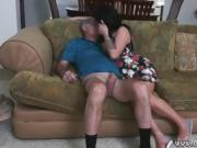 Teen shows boobs Frannkie's a prompt learner!