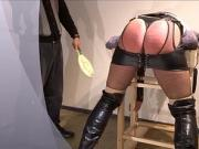 crossdresser punishment caning