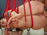Naughty chick was taken in anal asylum for harsh therapy