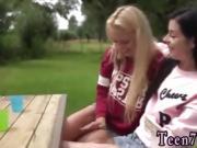 Milf lesbian pussy grinding and teen age girl mom Horny Lesbi