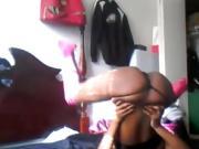 Crazy Pierced Black Teen Sexy Bedroom Dance - Ameman