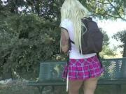 Milf espagnole se fait defoncer dans un parc