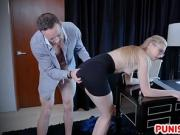 Boss Give Discipline To Trained Slut Secretary
