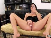 Frisky czech nympho opens up her narrowed twat to the special