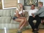 Horny Teens Beautiful Thighs Are Cum-painted
