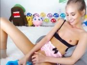 Petite Teen Cumshow watch more at WhoreCamsTV com
