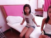 Kinky Asian cutie banged by neighbor