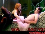 Bianca Resa live porn show with guy from audience SEM 2015