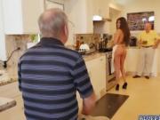 Sweet hottie Jeleana Marie getting huge cock to fuck