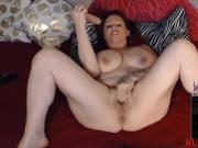 Horny as fuck BBW SunnyLarue with huge naturals boobs