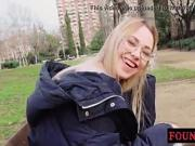 Selvaggia In Blonde Nerd Loves Public Fucking.