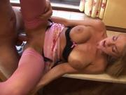 Busty Paige Ashley enjoys a hard anal fuck