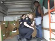 Black punishment Black suspect taken on a raunchy ride