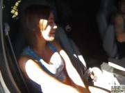 Ebony teen girls bus first time Angry boychums have no proble