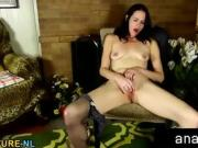 American housewife stripping feeling naughty
