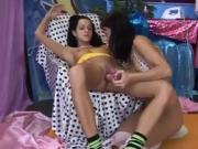British milf lesbian first time Hot splendid pals playing wit