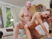 Blonde Molly Mae enjoys fucking with old men