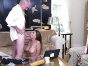 Kinky old men Ivy impresses with her large boobies and ass