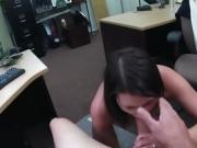 Customer Blows Big Throbbing Cock Of Pawnbroker