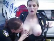 Two slutty cops take felon's BBC