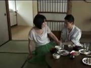 japanese mature housewife cheats with young lover
