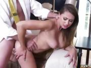 Ebony girl wants white dick Ivy impresses with her thick boob