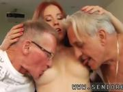 Hot threesome casting Minnie Manga licks breakfast with John