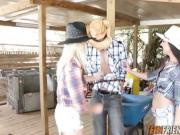 Kirsten Zoe Kayla cowboy big cock in farm