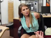 Ivy Rose shaved pussy fucked from behind for some big cash