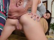 Mature old maid and old cock girl Riding the Old Wood!
