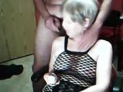 Granny & granpa on kinky webcam show