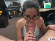Babe sells her watches and gets pounded by pawn dude