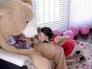 Fucking The Big Valentine Teddy Bear With StepBro Inside S9:E