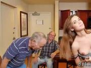 Beautiful Sweet Teen Spreads Tight Pussy For Old Men