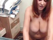 Beauty Amateur Camslut In Solo Dildo Drilling Session