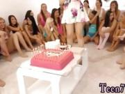 Ass traffic teen anal 40 dolls came over to party and celebra