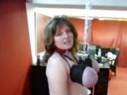 German BDSM studio with busty sub mom