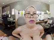 BaDoinkVR Busty Spex Office Slut Bridgette B Rides Your Cock