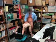 Alex Harper Doggy Style Thief Fucking Office